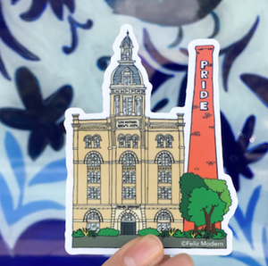 FMD Pearl Tower Sticker -  - Sticker - Feliz Modern