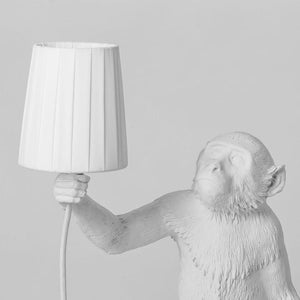 SLTI sitting monkey lamp