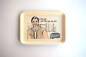 HSS Mr. Rogers Cambro Tray -  - Home Decor - Feliz Modern