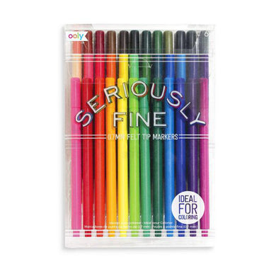 OLY Seriously Fine Felt Tip Markers