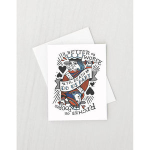 IDL royal vows card -  - Card - Feliz Modern