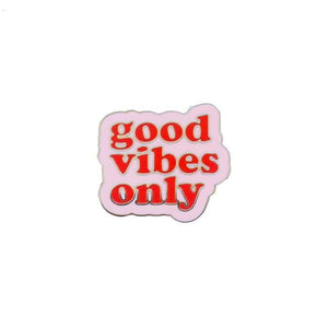OEC Good vibes only enamel pin
