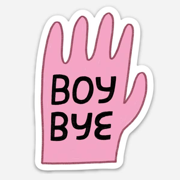 AVEP Boy Bye Sticker