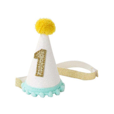TTA 1st Birthday Fabric Mini Hat
