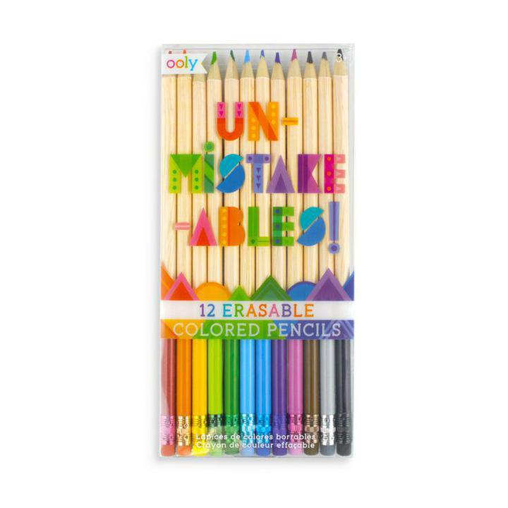 OLY  Erasable colored pencils