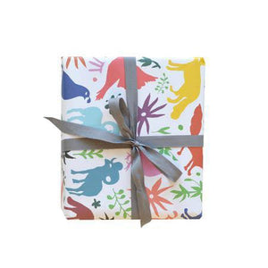 WIP Otomi Muli Gift Wrap Sheet (curbside only, no shipping) -  - Gift Wrap - Feliz Modern