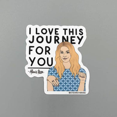 CTR Alexis Journey Sticker