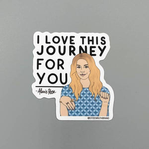 CTR Alexis Journey Sticker Schitt's creek -  - Sticker - Feliz Modern