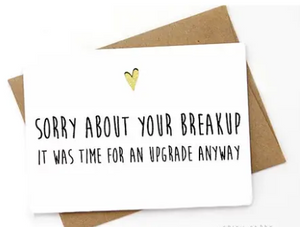 SPCA Sorry About Your Breakup Card -  - Card - Feliz Modern