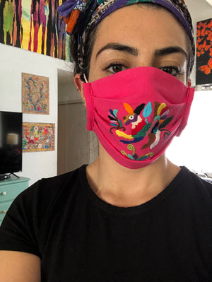 DAI* Otomi Face Mask - supports SAA African American Community Fund -  - Face mask - Feliz Modern