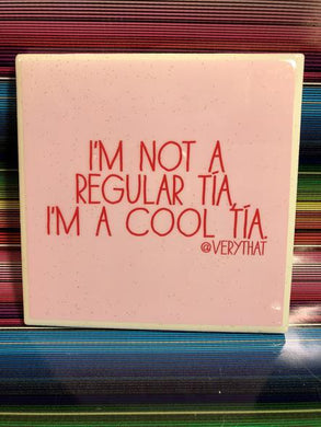 VT Cool tia tile coaster
