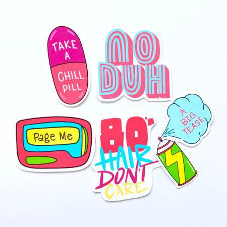 SYB 80s Sticker Pack
