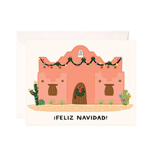 BWS Adobo Christmas Greeting Card -  - Card - Feliz Modern