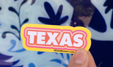 FMD Texas Sticker