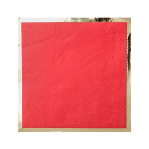 JAC ruby kiss cocktail napkin