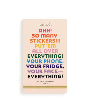 BAN Sticker Book Issue 5 -  - Sticker Book - Feliz Modern