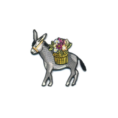 ATQ Donkey Embroidered Patch