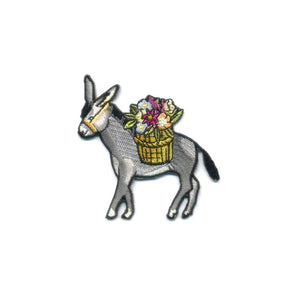 ATQ Donkey Embroidered Patch -  - Patch - Feliz Modern