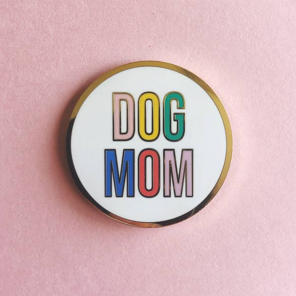 LLBL Dog Mom Pin