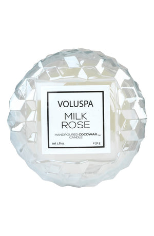 VLSPA Roses Macaron Candle (in-store or curbside only due to wax melting in shipment) - milk rose - Candle - Feliz Modern