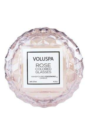 VLSPA Roses Macaron Candle (in-store or curbside only due to wax melting in shipment) - Rose colored glasses - Candle - Feliz Modern