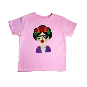 MCL Pink Frida Kids T-shirt -  - Kids Clothing - Feliz Modern