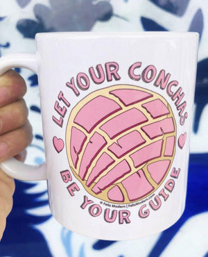 FMD Let Your Conchas Be Your Guide Mug - supports the SAA African American Community Fund -  - Coffee Mug - Feliz Modern
