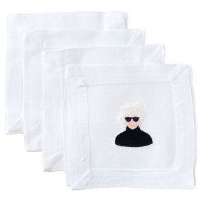 LTM* Andy Warhol Cocktail Napkin Set -  - home decor - Feliz Modern
