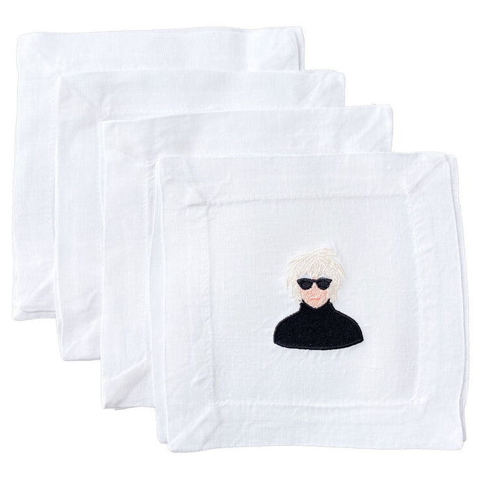LTM* Andy Warhol Cocktail Napkin Set