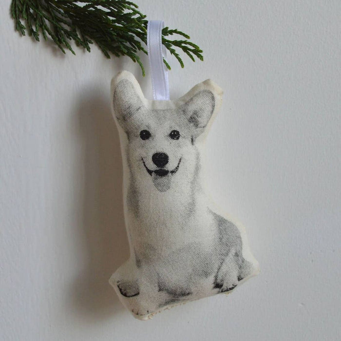 BRO Corgi Dog Ornament