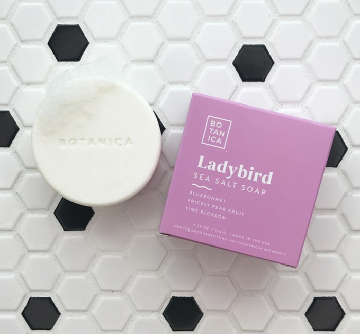 BTA Ladybird Sea Salt Soap