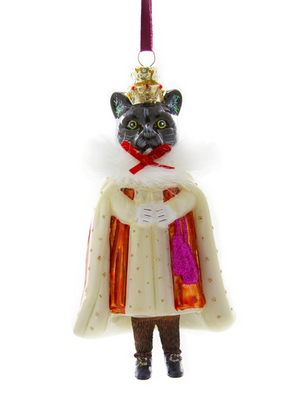 CFC Regal Cat Ornament -  - Ornament - Feliz Modern