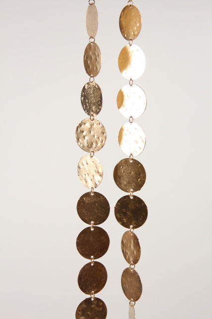 CFC Rose Gold Hammered Brass Garland