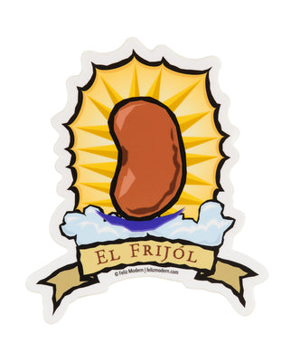 FMD frijol sticker