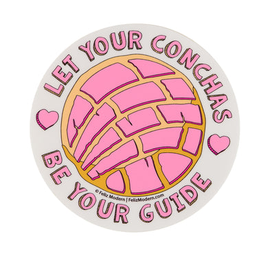 FMD Let Your Conchas Be Your Guide Sticker