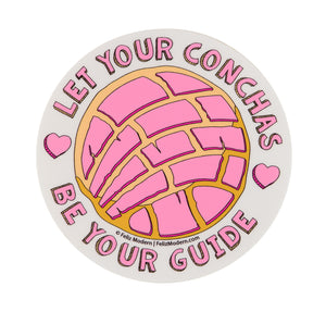 FMD Let Your Conchas Be Your Guide Sticker -  - Sticker - Feliz Modern