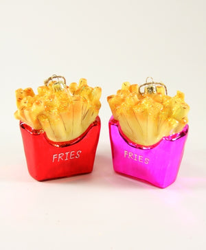 CFC Fries Ornament -  - Ornament - Feliz Modern