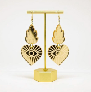 SEB Sacred Heart Earrings -  - Earring - Feliz Modern