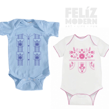 FMD Mexican dress onesies and kid shirts