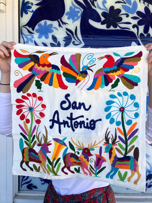 NTSS San Antonio Otomi Pillowcase -  - Pillow - Feliz Modern