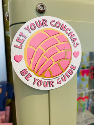 FMD Let Your Conchas Be Your Guide Magnet -  - Magnet - Feliz Modern