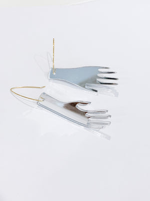 SSGG Mirror Hands Earrings -  - Earring - Feliz Modern