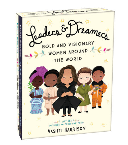LBYR Leaders & Dreamers Bold and Visionary Women Around the World Gift Set- 2 Books