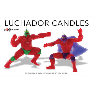 NPD Luchador Candles -  - Party Supply - Feliz Modern