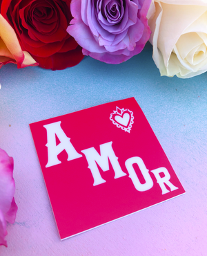 MMF SA IS AMOR Sticker -  - Sticker - Feliz Modern