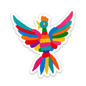 NAT Otomi Bird Sticker -  - Sticker - Feliz Modern