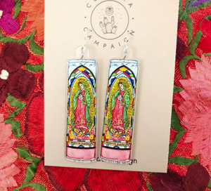 NAT Virgen Candle Earrings -  - Jewelry - Feliz Modern