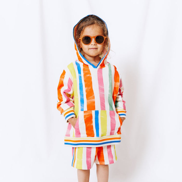 NAZ Multi Stripes Kid Hoodie