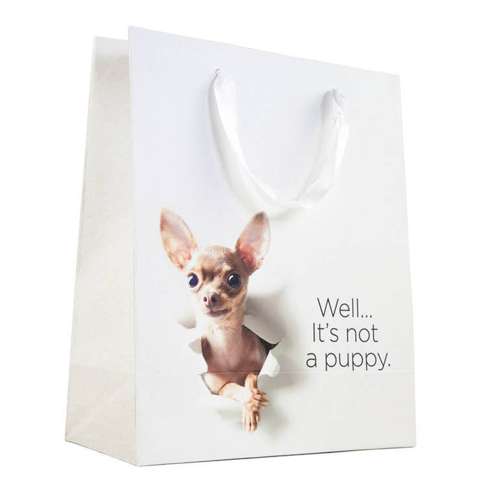 THWT Not a Puppy Gift Bag