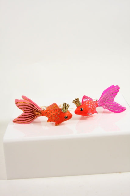 CFC Pink Crowned Fish Ornament